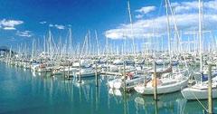 puerto de Nueva Zelanda