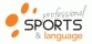 logo PROFESSIONAL SPORTS & LANGUAGE