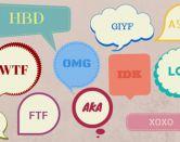 Los 20 acrónimos del inglés más populares