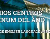 España arrasa en los premios Platinum de Cambridge Language Assessment
