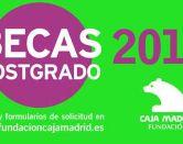 Becas Cajamadrid para estudios de postgrado en el extranjero