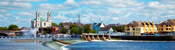 Entre los mejores pueblos de Irlanda para aprender inglés encontramos Athlone