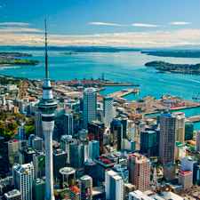 Entre las mejores ciudades del mundo para aprender inglés tenemos a Auckland