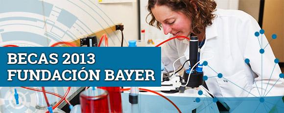 Becas de la fundación Bayer 2013