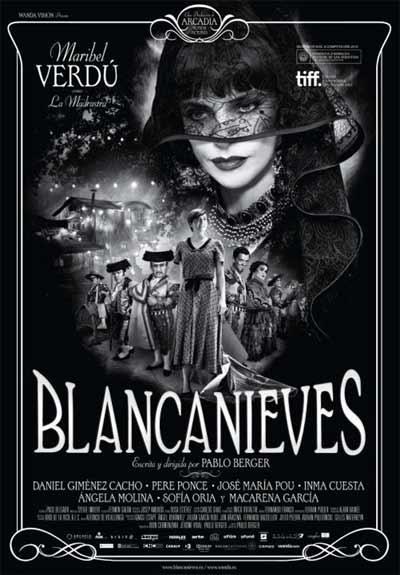 Cartel de Blancanieves de Pablo Berger