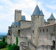Carcasona, una auténtica fortaleza medieval que ha servido de plató a muchas películas