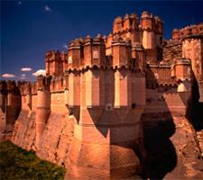 Castillo de Coca, una escondida maravilla de España que bien se merece su propia película