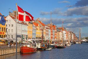 Becas de danes en Dinamarca