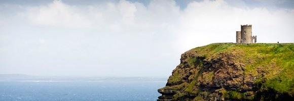 Este paisaje irlandés es uno de los muchos que podrá disfrutar un estudiante de un curso de inglés en Irlanda