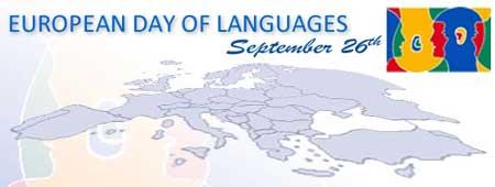 imagen aniversario día europeo de las lenguas