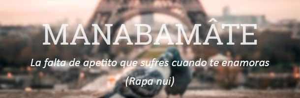 Palabras bonitas en diferentes idiomas hay incluso en Rapa Nui