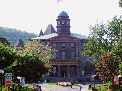 Universidad McGill, Montreal, Canadá