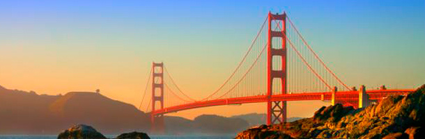 Entre las mejores ciudades de California para aprender inglés está San Francisco