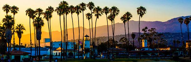 Entre las mejores ciudades de California para aprender inglés nos encontramos con Santa Bárbara