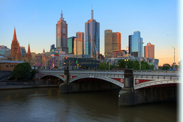 Melbourne será la ciudad donde tenga lugar esta beca para estudiar en Australia