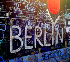 El Muro de Berlín es uno de los iconos más emblemáticos de la capital alemana