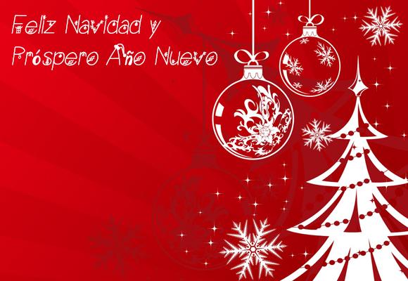 Feliz Navidad en castellano desde infoidiomas