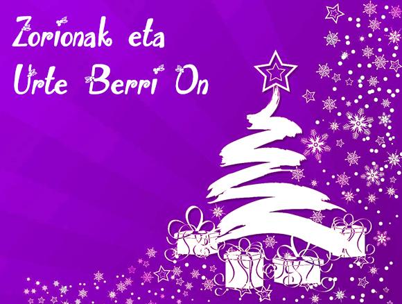 Feliz Navidad en euskera