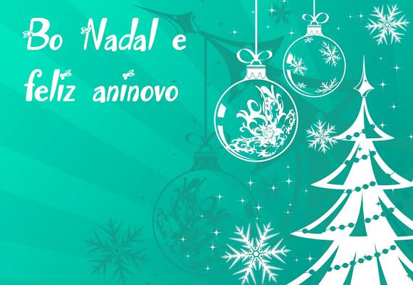 Feliz Navidad en gallego