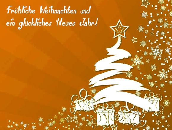 Feliz Navidad en alemán
