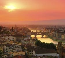 Vistas de Piazzale Michelangelo, el mejor mirador de Florencia