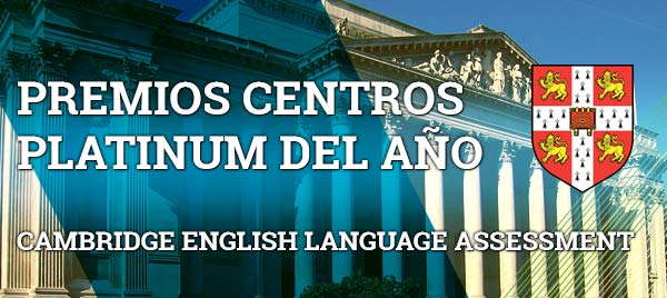 Premios Platinum de Cambridge Language Assessment