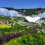 Proyecto Edén, situado en Cornualles, al sur de Reino Unido