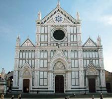 La Iglesia de Santa Croce es el auténtico panteón de Florencia
