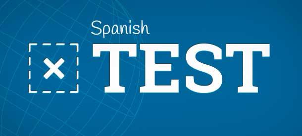 Spanish test