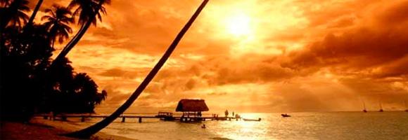 ¿Quieres viajar a una playa como la de la fotografía? Pues mejor presta atención a estos consejos de salud