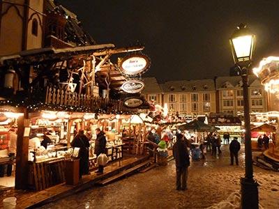 mercadillo de Navidad en Alemania