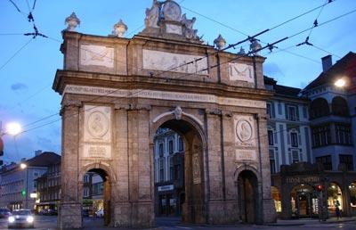 Arco del triunfo de Innsbruck