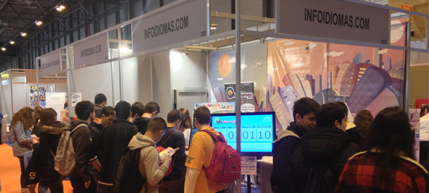 Infoidiomas también estará este año en Aula 2015