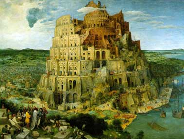 cuadro de torre de babel