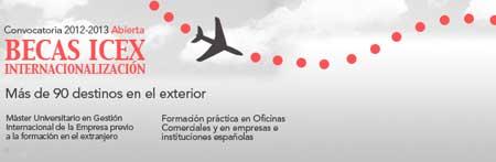 becas internalización del ICEX
