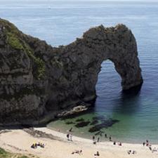 Los acantilados de Bournemouth son todo un reto para los amantes de la aventura