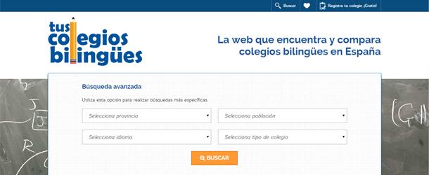 Descubre cómo utilizar este buscador de colegios bilingües