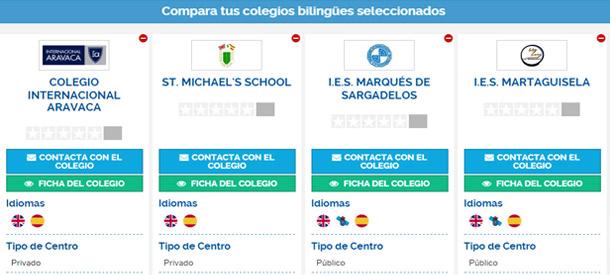 Descubre qué colegios bilingües destacan más en uno u otro aspecto