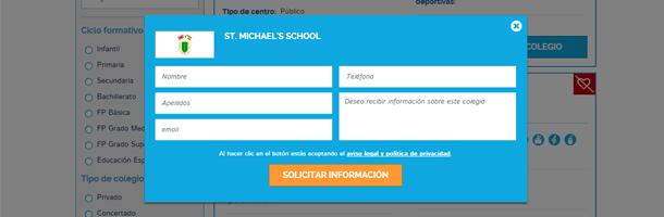 No tengas ningún problema en contactar con cuantos colegios bilingües gustes