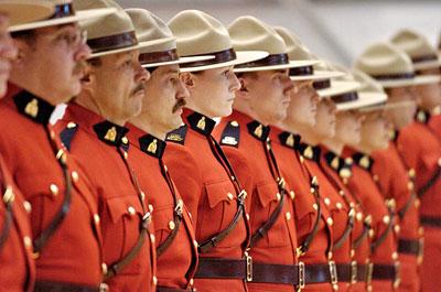Caballeria Montada de Canadá