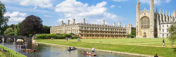 Cambridge es de las ciudades más baratas de Reino Unido donde aprender inglés puro y neutro