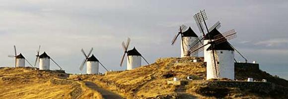 Los molinos de viento de Castilla, origen de muchas historias del idioma castellano y expresiones de origen curioso