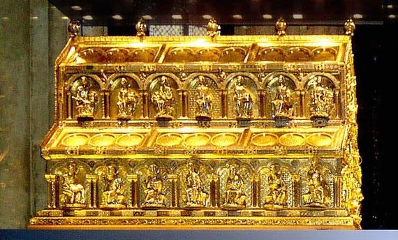 tesoro de los Reyes Magos en Colonia