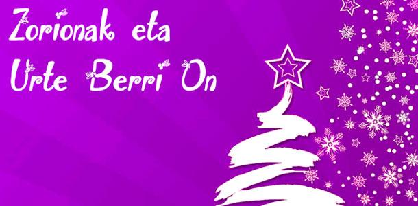 Así es cómo desear una Feliz Navidad una lengua euskera