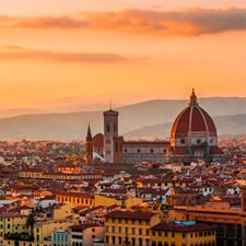En Florencia podrás aprender italiano en medio de la Toscana