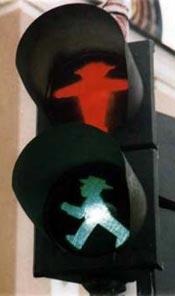 semáforo Berlín