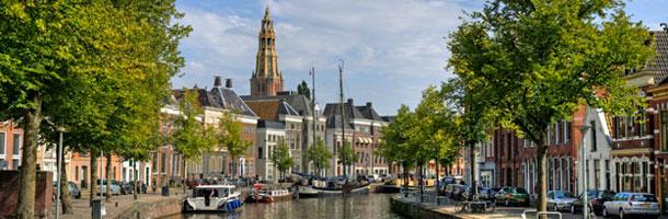 Incluido con los mejores destinos para las becas Erasmus tenemos a Groninga