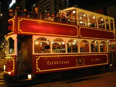 tranvía Hong Kong