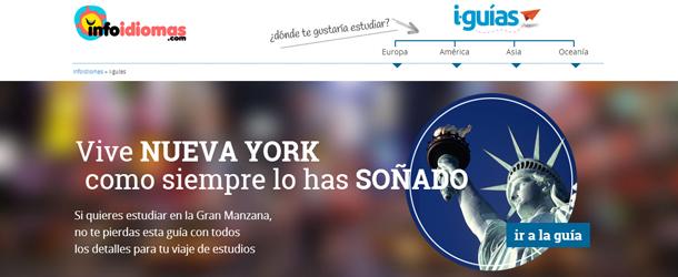 i-guías también se encuentra incorporado en el nuevo buscador de idiomas
