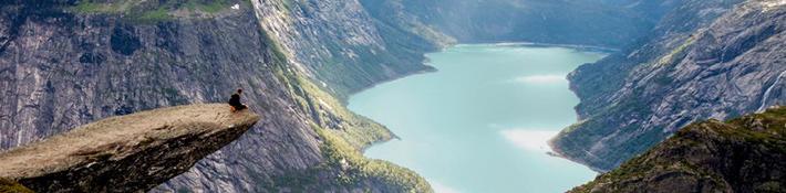 Por raro que parezca trabajar y estudiar inglés en Noruega es una gran idea